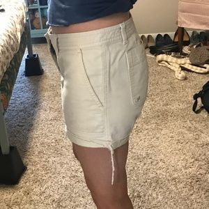 Abercrombie & Fitch Shorts - Distressed Exposed Hem Shorts